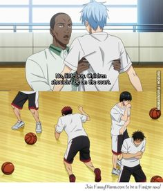 Kuroko no Basuke - How to get on Kuroko's bad side... (But his teammates' reactions tho XD)