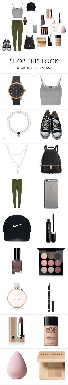 """""""sgh"""" by http-txmmi on Polyvore featuring Marc Jacobs, Topshop, Converse, Charlotte Russe, Michael Kors, Mother, Native Union, Nike Golf, Bobbi Brown Cosmetics and MAC Cosmetics"""