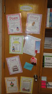 Daily Five and Writing Center Pics... It's a REAL Blog Post!