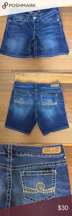 Seven7 Jean Shorts Seven7 Size- 14 Seven7 Shorts Jean Shorts
