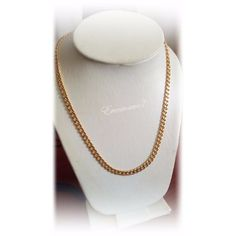 Cadena Para Caballeros En Oro Laminado 18k - Bs. 19.100,00 en Mercado Libre