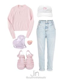 """""""Cute Outfit / BTS"""" by youaremorethanbeautiful ❤ liked on Polyvore featuring Dr. Martens and River Island"""