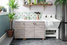 Backsplash Goals - 16 Reasons You Should Mix Tile Patterns - Photos