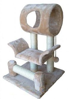 "$34.99-$89.99 GoPetClub 28"" Cat Tree Condo House Toy Pet Scratcher Post Furniture F13 - GoPetClub produces pet products and simply offer the widest variety of cat furniture on the market. With our own manufacturer we carry exclusive design cat trees and pet related products that make us a one stop pet supply marketplace. Description: Size : 18""W x 17.5""L x 28""H , Size of round house : 10""D x 12""L ..."