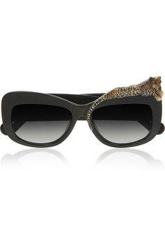 Anna-Karin Karlsson|Rose et la Mer cat eye acetate sunglasses|NET-A-PORTER.COM