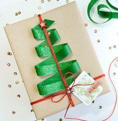 Оригинальная упаковка подарка на Новый год своими руками #новыйгод #подарок #идея