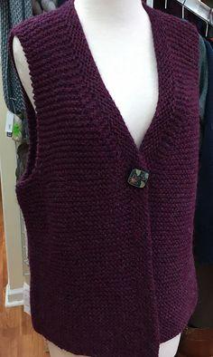 Ravelry: Simply The Vest pattern by Michelle Kupfer Vest Pattern, Ravelry, V Neck, Knitting, Sewing, Vests, Mens Tops, Inspiration, Patterns