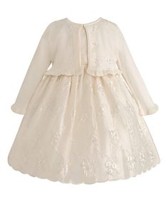 Look at this #zulilyfind! Candlelight Embroidered A-Line Dress - Infant & Toddler #zulilyfinds
