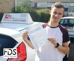 Congratulations to Sean Checkley who passed his practical Driving Test on the 22nd September 2016 – and with only 3 driving Faults. Very well done and best wishes from your Driving Instructor Chris and all of us here at Flexdrive Driving School.  Sean had driving lessons in Wellingborough and Earls Barton with Flexdrive Driving School. #drivinglessons #learntodrive #wellingborough