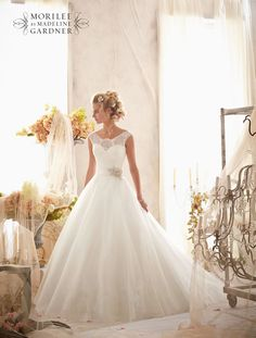 Mori Lee 2607 wedding dress • The latest Mori Lee bridal collection is full of gorgeous sparkly princess gowns