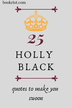 25 Holly Black Quote
