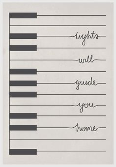 Change this into a few keys and all the words on one line, put that as a tattoo wrapping around my ankle.... Yep I love it
