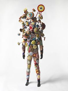 Crocheted Costume by the OTHER Nick Cave!