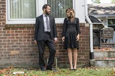 Dominic West and Jennifer Esposito in The Affair Season 3