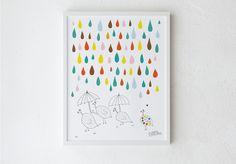La pioggia ti rende bello. #OliviaBlum