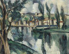 Maurice de Vlaminck (French, 1876-1958), La Seine à Chatou, c.1908. Oil on canvas, 72.3 x 92.2 cm.
