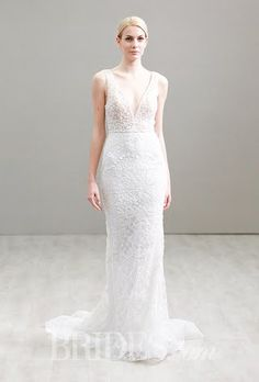 Lazaro Wedding Dresses - Spring 2016 - Bridal Runway Shows - Brides.com | Brides.com