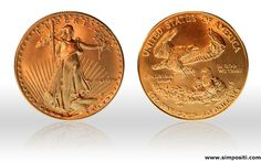 Beautiful and famous gold coins from USA. #goldcoins