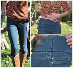 Stitch Fix Fall Wardrobe Updates - and the comfiest pull on jeans ever!