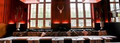 Les Gareçons Basel :: WedMap Espresso Bar, Basel, Restaurant, Couch, Curtains, Contemporary, Furniture, Home Decor, Settee