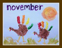 Our Handprint and Footprint Calendar - Andrea Dekker Calender Print, Art Calendar, Kids Calendar, Calendar 2017, Calendar Ideas, Childrens Artwork, Kids Artwork, Craft Activities For Kids, Crafts For Kids