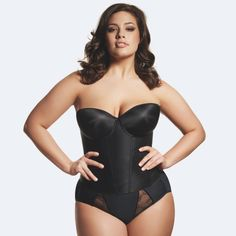 Ideal size! Curvy women are sexy!
