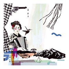 Illustration for »Freistil5« | Laura Laakso
