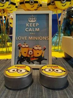 MINIONS Birthday Party Ideas   Photo 1 of 8   Catch My Party