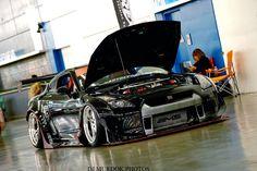 AMS Alpha x Rocket Bunny x Nissan GTR.