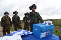 Israel Elections in the IDF