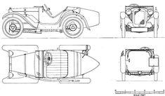 Austin Seven Ulster (1930) | SMCars.Net - Car Blueprints Forum