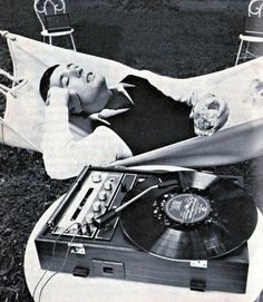 Sharp Record Player, 1970.♫♫♥♫♫♥♥♫♥JML