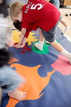 Going Global (Twister for Review of Continents)