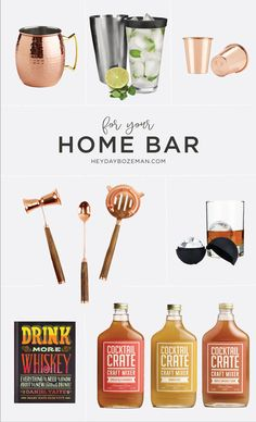 Add sophistication to your home bar with these fresh essentials. Shop our top picks for hand crafted cocktails made from home! Free shipping on all domestic orders! Use code SHIPNOV at checkout.