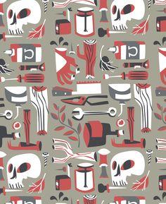 Pattern Design - Pam Wishbow Illustration