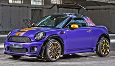 """Special cars: MINI Cooper S Roadster """"Life Ball"""" by Franca Zoccani"""