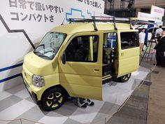 The Honda Hobio concept provides a retro feel and basic camping needs