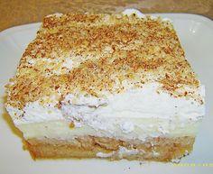 Zutaten     32  Zwiebäcke   2 Pkt. Vanillepuddingpulver   1 Liter Milch und Zucker für den Pudding   400 g Schlagsahne und etw...