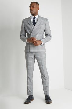 Black Double Breasted Suit, Double Breasted Jacket, Formal Men Outfit, Casual Outfits, Summer Outfits, Slim Fit Suits, Smart Outfit, Suits For Sale