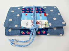 Scrappy Patchwork Needlebook || Very Kerry Berry (looking for ideas on how to cover a book)