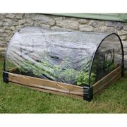 Garden Raised Beds Covers - Haxnicks Raised Bed Polythene Weather Protection Cover