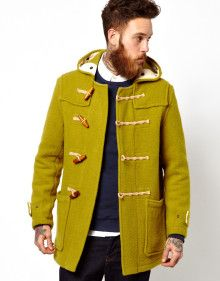 Gloverall Duffle Coat - Lyst