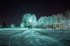 Winter evening by Серега Лаврушкин on 500px