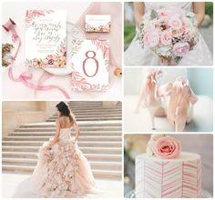 """Приглашения """"Истинный Романтизм"""" от Екатерины Савченко. Нежный дизайн как раз для свадьбы в цвете Rose Quartz."""