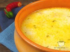 Ciorba de pui a la grec Diet Recipes, Cooking Recipes, Cooking Ideas, Romanian Food, Cheeseburger Chowder, Kids Meals, Bacon, Good Food, Food And Drink