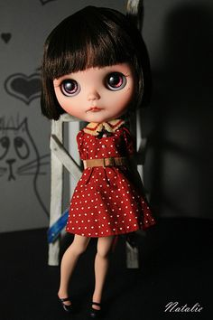 Anyuta by natalie-x-blythe. Vintage look If i am made into a doll, this is how i would liked to be dressed in