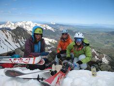 TBT 14er: Wilson Peak Ski (12 June 2008) - 14erskiers.com