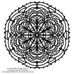 Mandala - Malvorlage