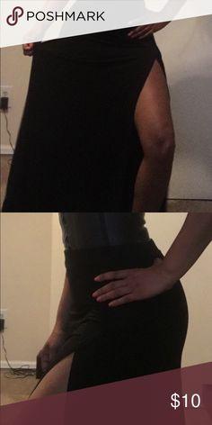 Long Black skirt Long skirt with split Skirts A-Line or Full