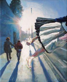 Carlos Saura, pintor español, arte surrealista español, pinturas surrealistas de Carlos Saura